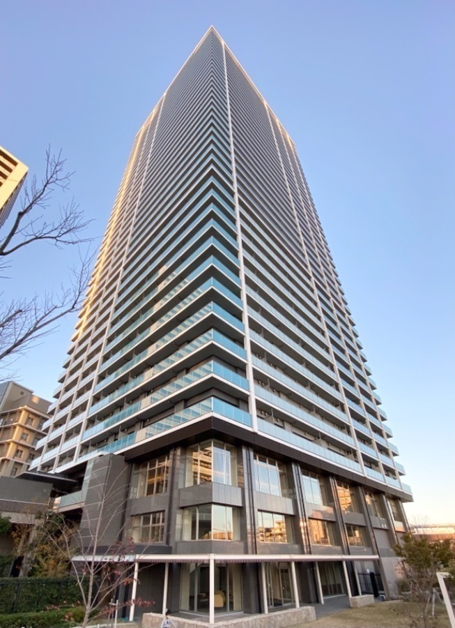 外観:42階建て超高層タワーマンション